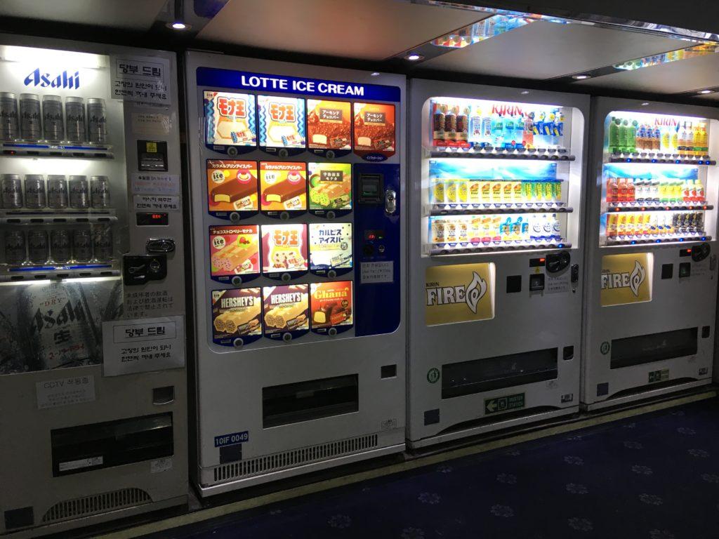 自販機は日本円専用
