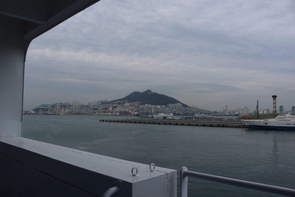 いつも見る釜山の景色