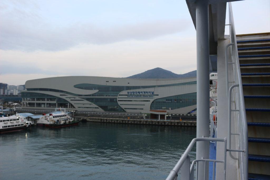 釜山国際旅客ターミナル