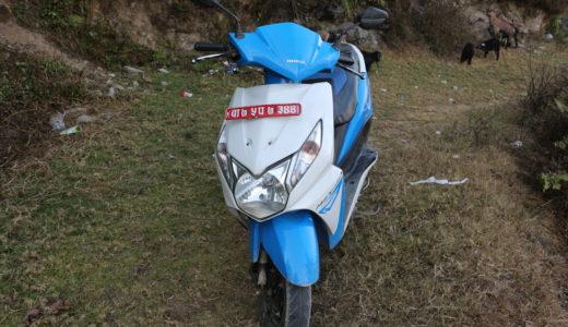 ネパールのカトマンズでレンタルバイクを借りてみた