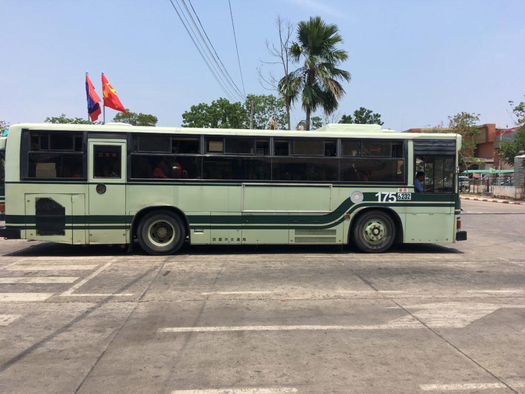 京都市営バスの中古車が使われている