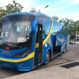 ブルネイ行きの国際バス