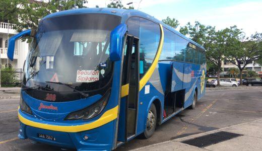 コタキナバルからブルネイへ国際バスで陸路国境超え
