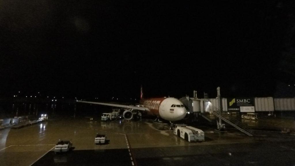 タイエアアジアXの機体