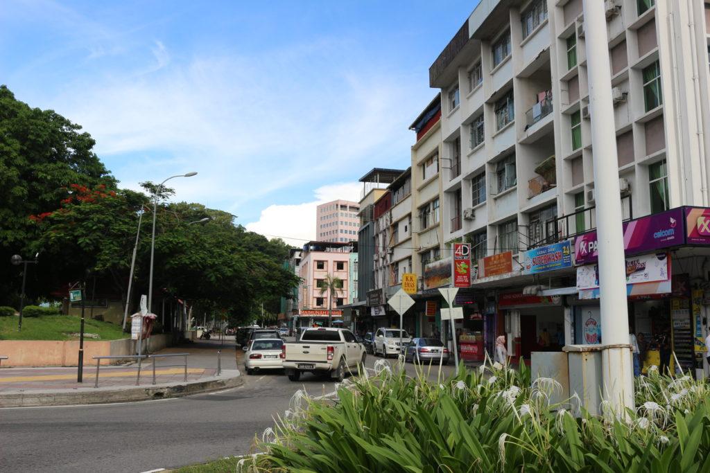 コタキナバルの市街地