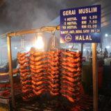 Night Marketで売られていた鶏肉