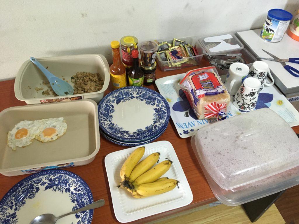 朝食のバリエーション