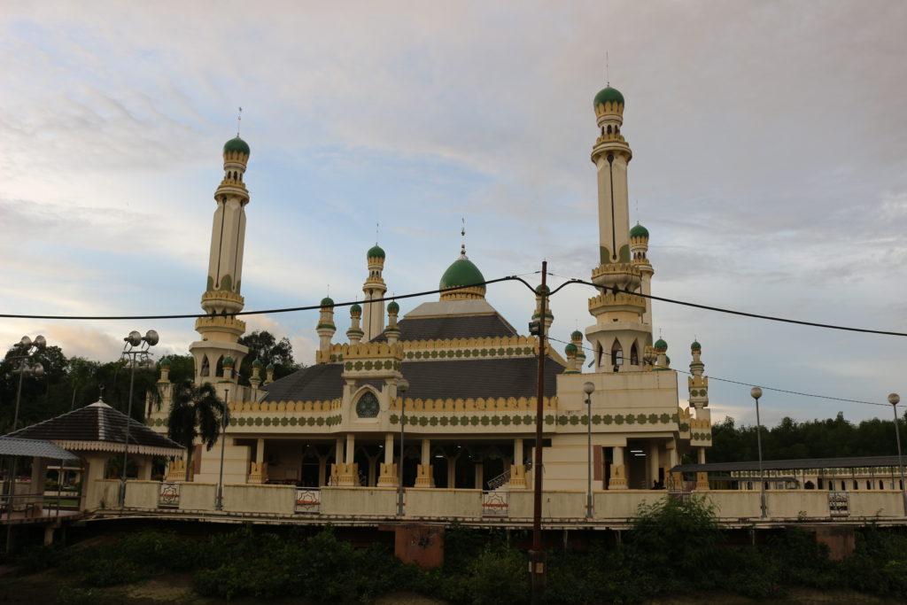 TAMOIの近くにあったモスク。規模は思ったよりか小さい。