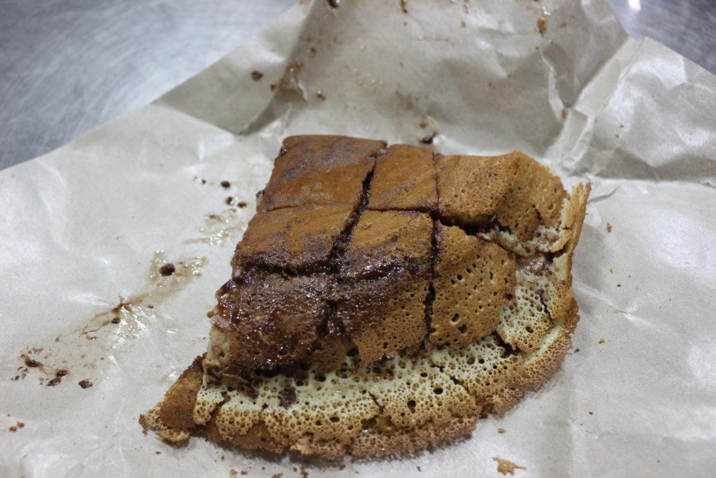 ブルネイ式のパンケーキ