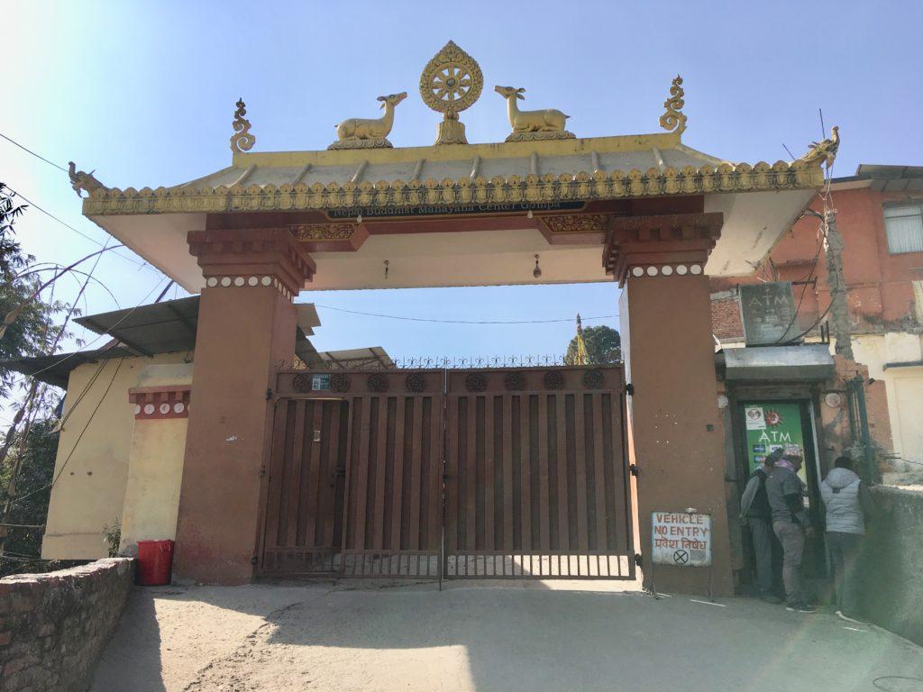コパン僧院の正門