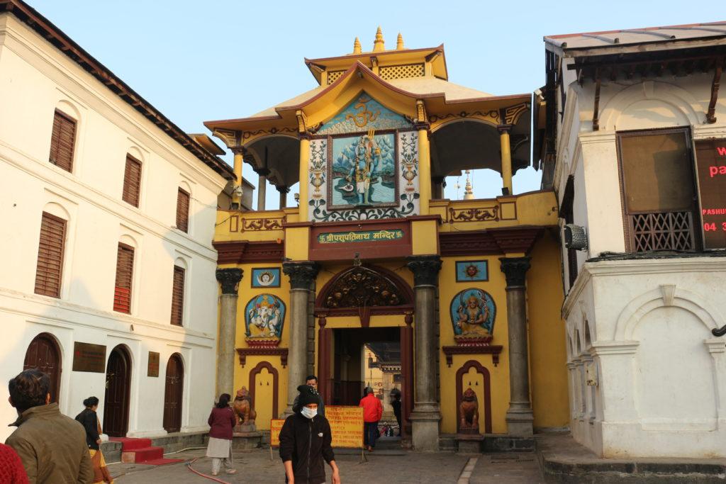 パシュパティナート寺院の入り口