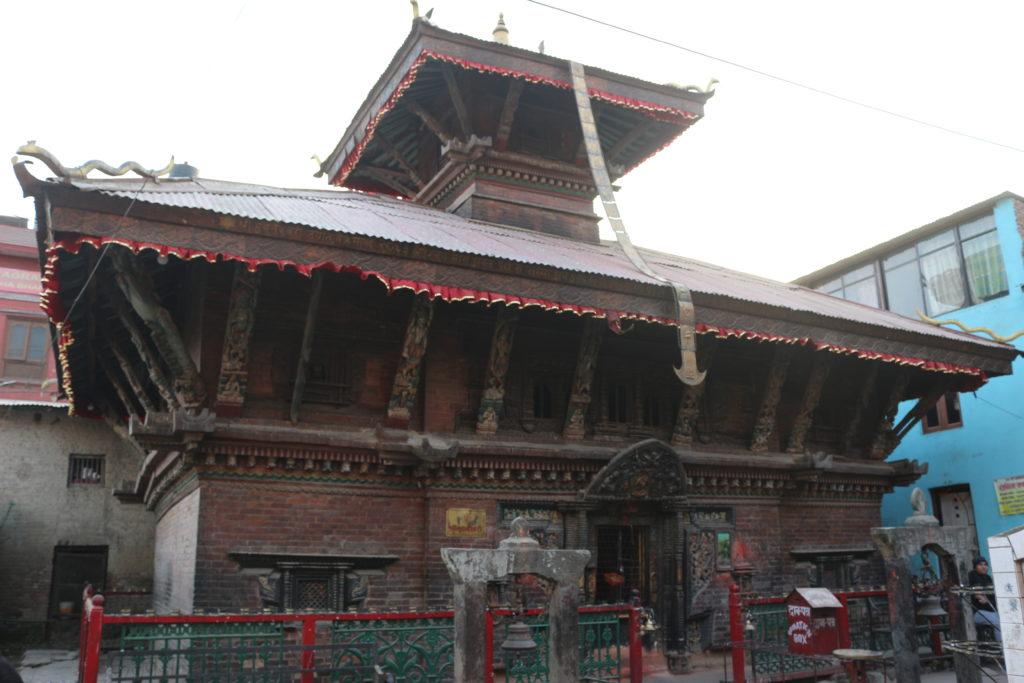 近くにあった他のヒンドゥー教寺院