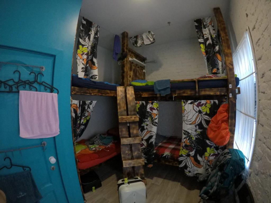 ドミトリーの部屋です