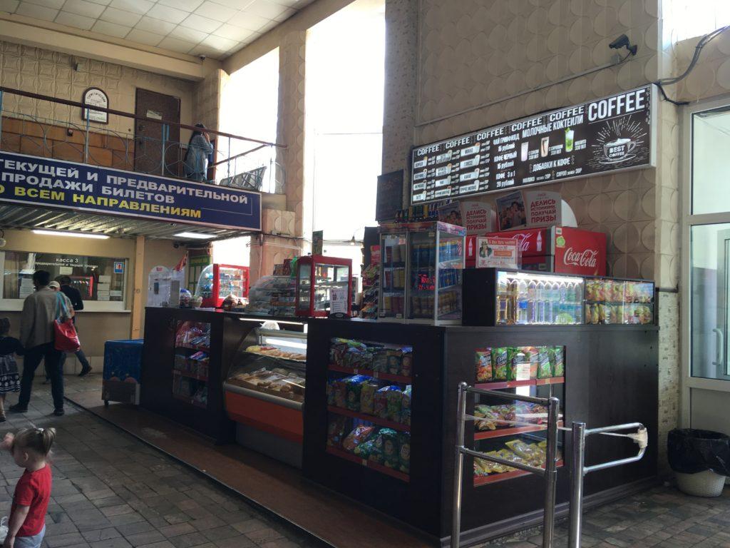 カフェ兼売店です。