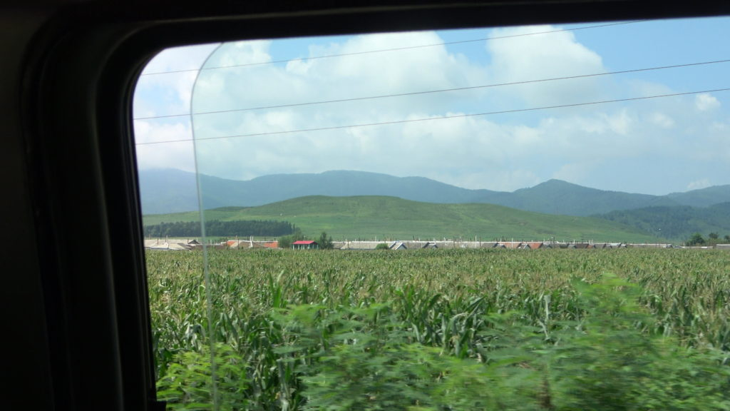 北朝鮮の一般的な平屋の住居
