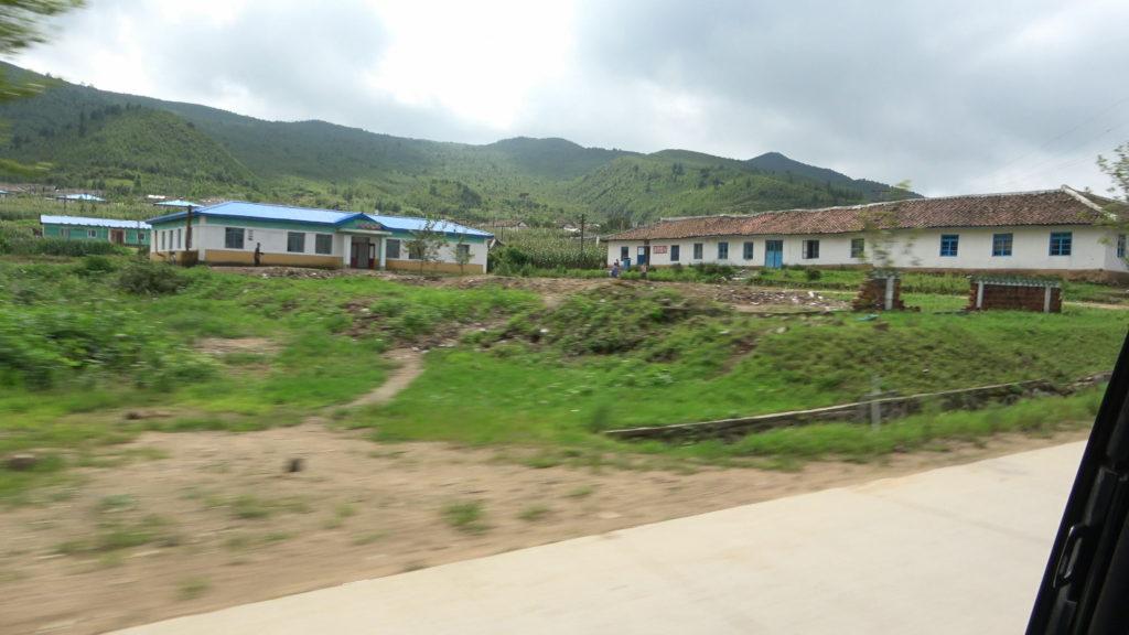 北朝鮮の一般的な建物