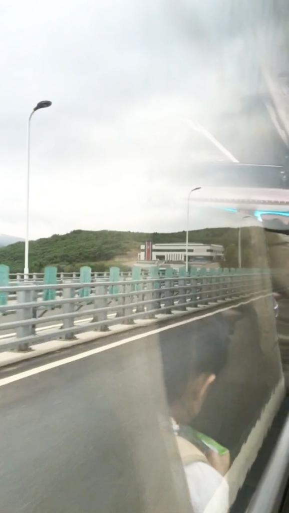 図們江に架かる図們江大橋