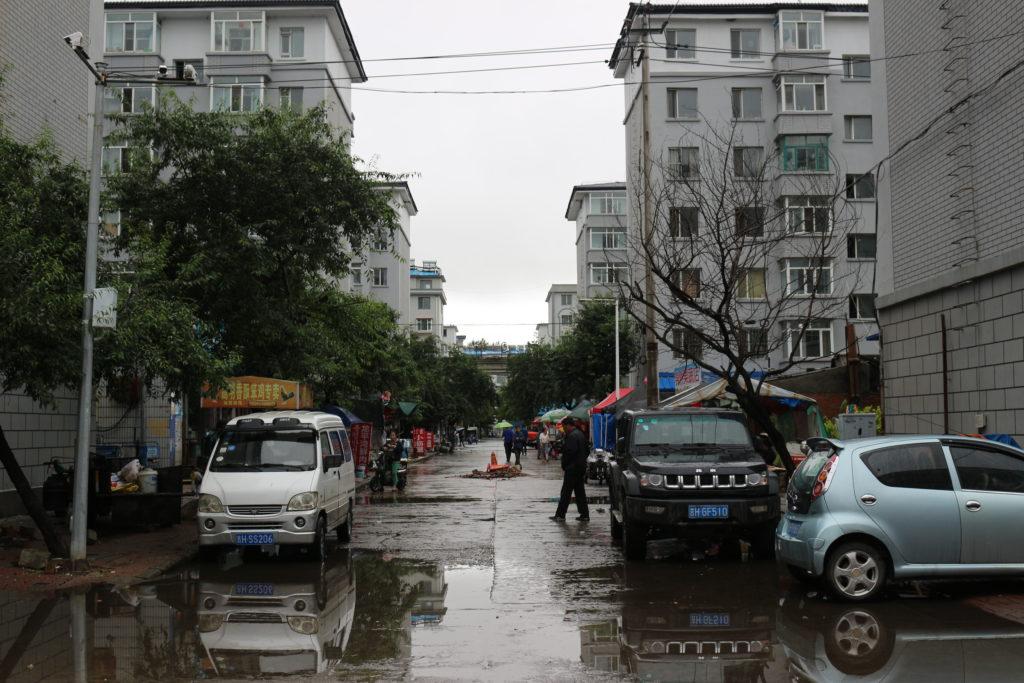 ローカルなエリアは中国色が強いようです
