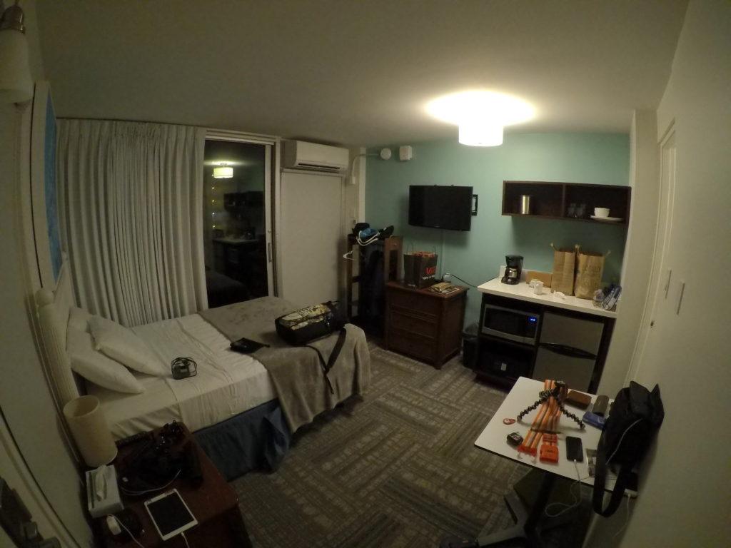 部屋の全貌