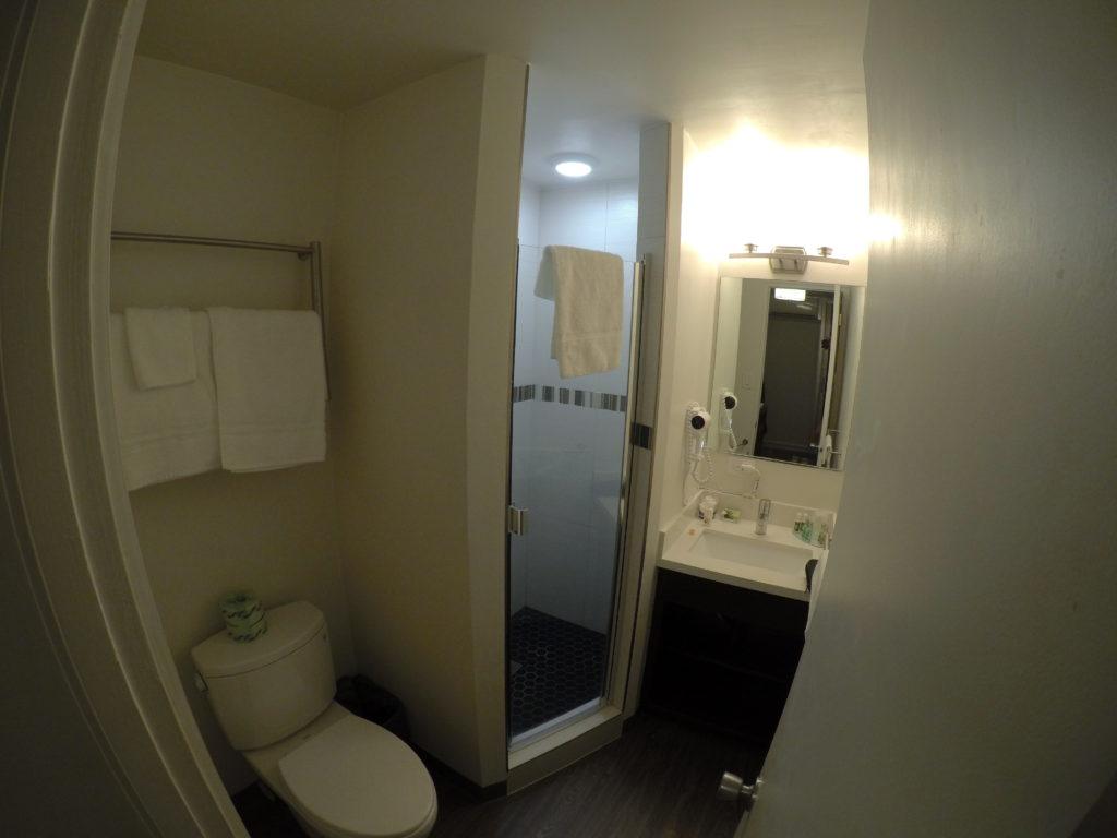 バスルームの全貌