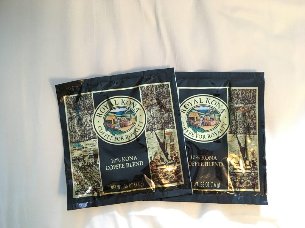 コナコーヒーのドリップ用の袋