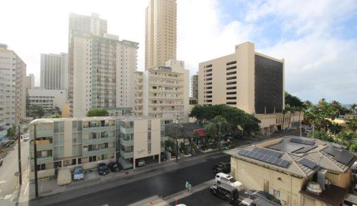 ハワイのワイキキで宿泊したホテル|ワイキキセントラルホテル