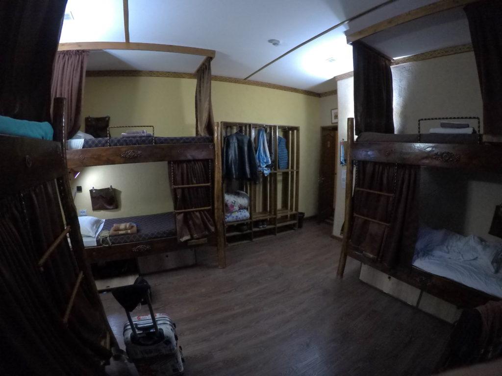 ドミトリーの部屋の全貌