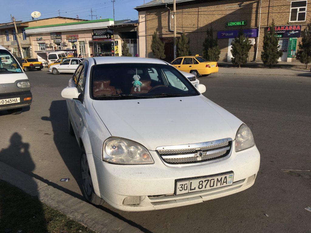 国境まで乗車したシェアタクシー