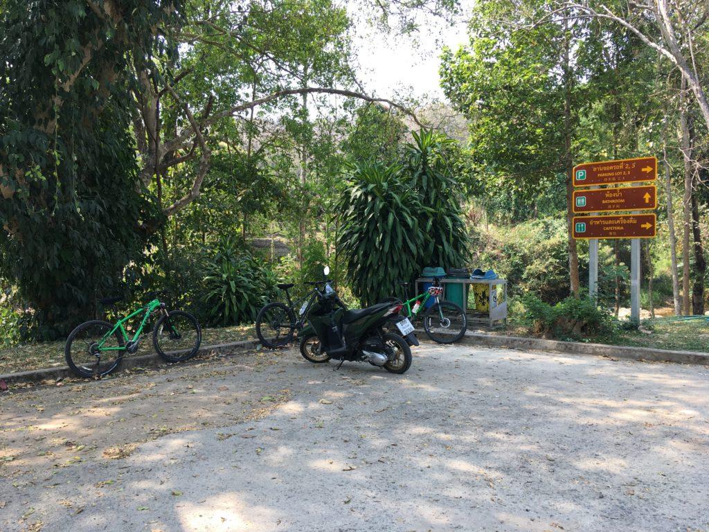 メーサー滝の駐車場