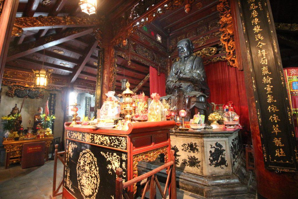 クアンタン寺の中の様子