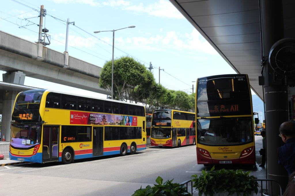 A21番のバスに乗車します。