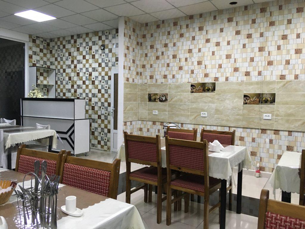 3階にある食堂スペース