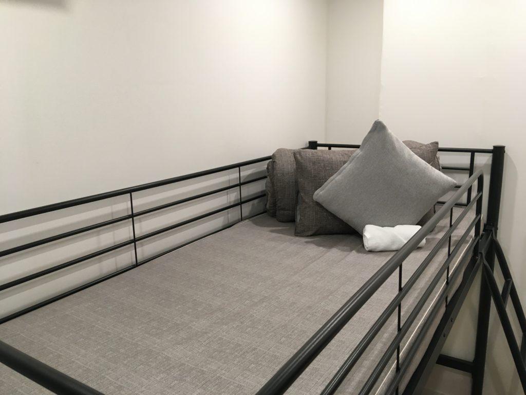 上段はベッド