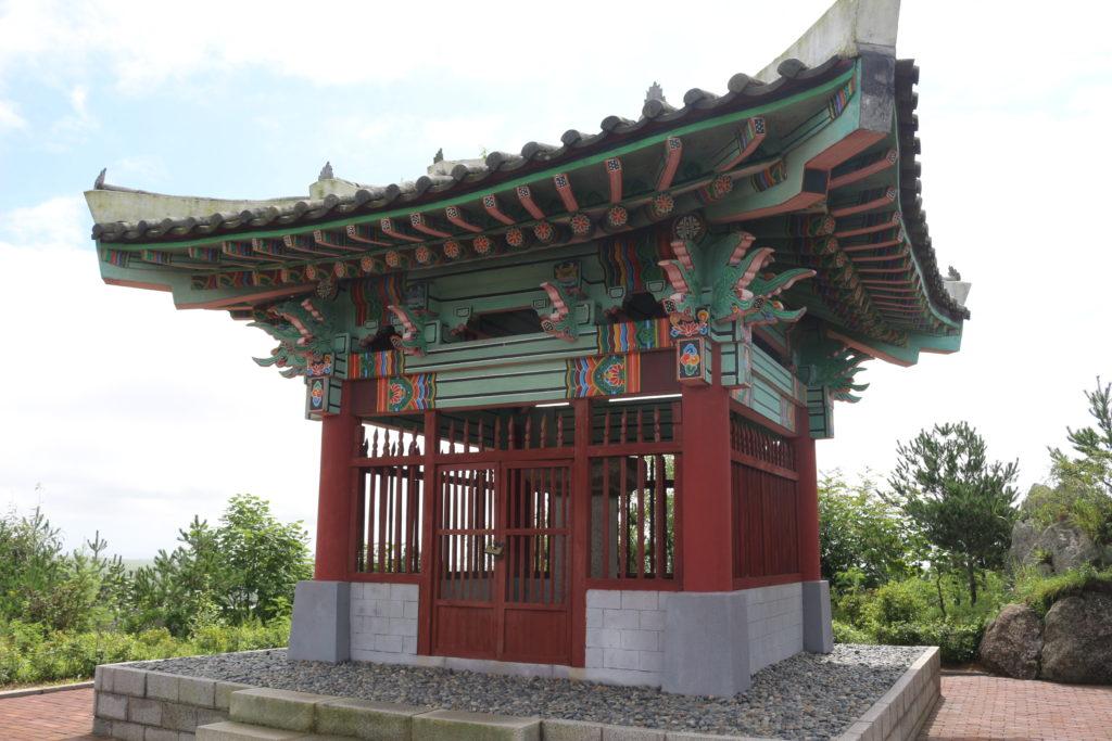 朝鮮半島の最果てにある朝鮮の建造物