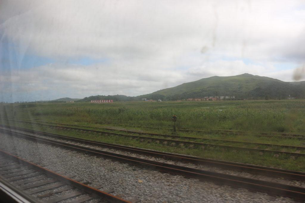 豆満江駅周辺の景色