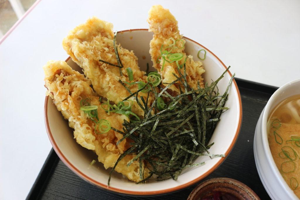 マグロ天丼
