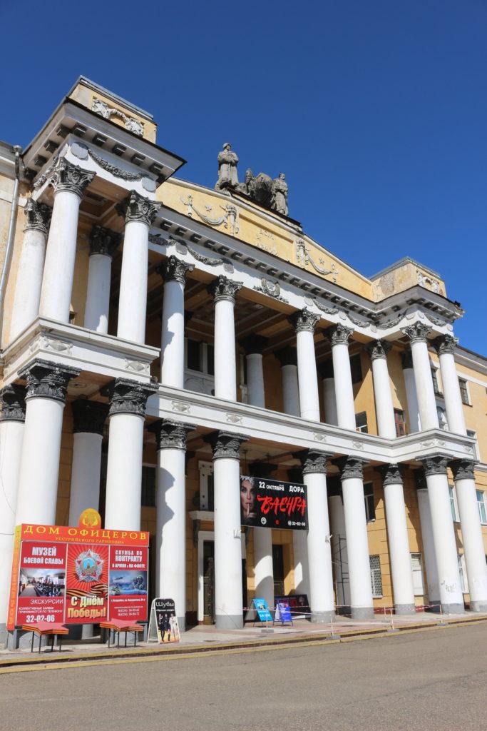 ロシアの映画館