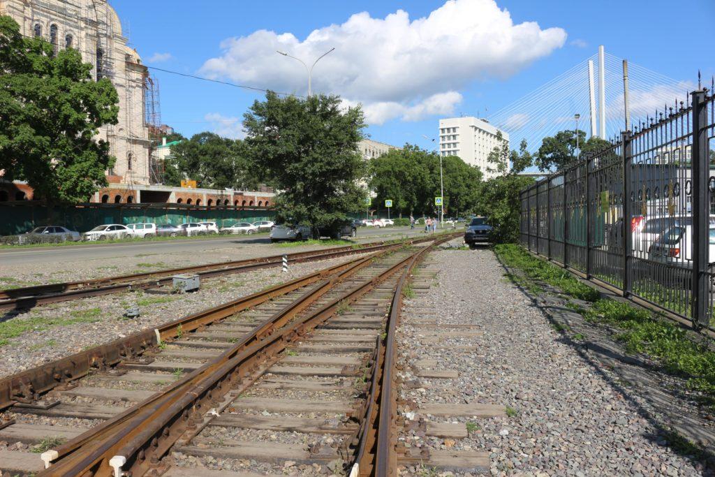 ロシアの線路