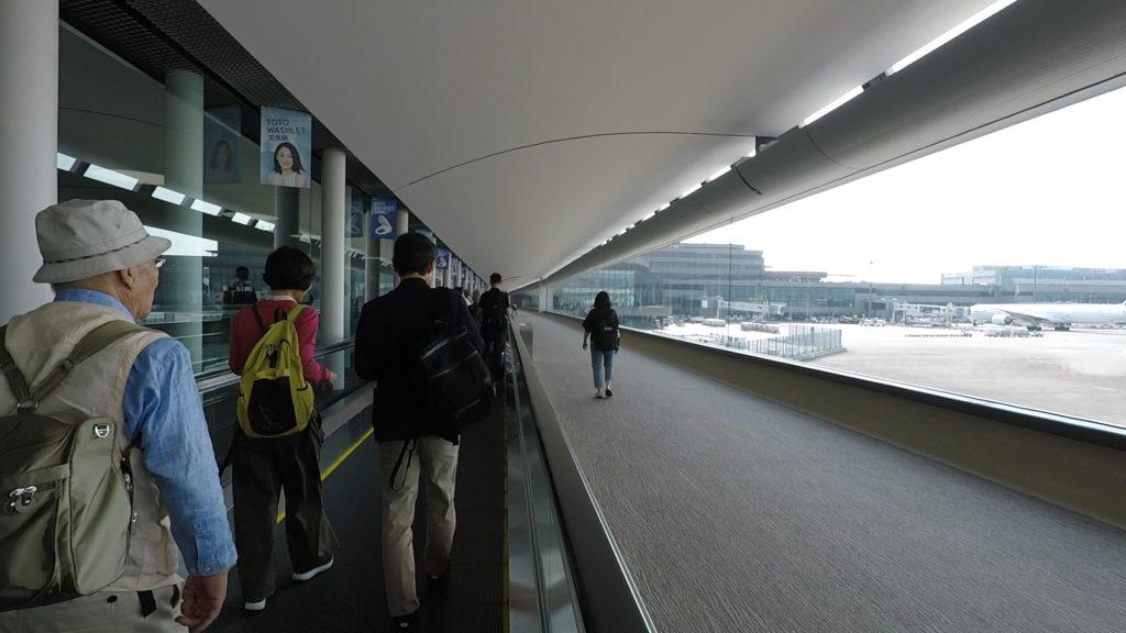 人生で2度目の成田国際空港