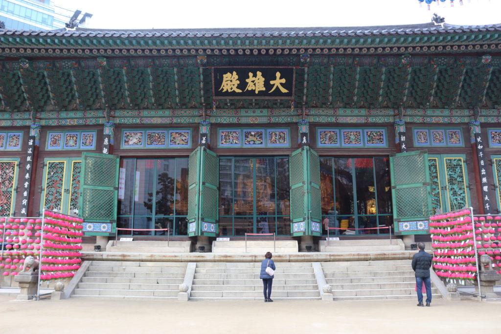 曹渓寺の本殿
